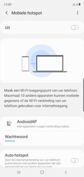 Samsung galaxy-note-10-dual-sim-sm-n970f - WiFi - Mobiele hotspot instellen - Stap 7
