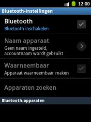 Samsung S5300 Galaxy Pocket - bluetooth - headset, carkit verbinding - stap 6