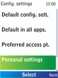Nokia X2-00 - Internet - Manual configuration - Step 5