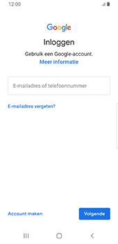 Samsung galaxy-s9-sm-g960f-android-pie - Applicaties - Account aanmaken - Stap 5