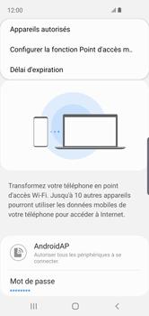 Samsung Galaxy S10e - WiFi - Comment activer un point d'accès WiFi - Étape 9