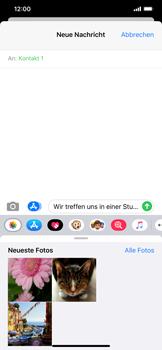 Apple iPhone XS Max - iOS 13 - MMS - Erstellen und senden - Schritt 13