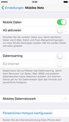 Apple iPhone 6 iOS 8 - Internet - Manuelle Konfiguration - Schritt 5