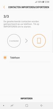 Samsung Galaxy S9 (SM-G960F) - Contacten en data - Contacten kopiëren van SIM naar toestel - Stap 12
