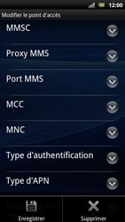 Sony Ericsson Xperia Arc S - MMS - configuration manuelle - Étape 14