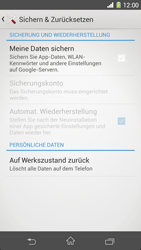Sony Xperia Z1 - Fehlerbehebung - Handy zurücksetzen - 7 / 11