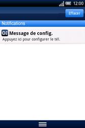Sony Xperia X8 - MMS - Configuration automatique - Étape 4