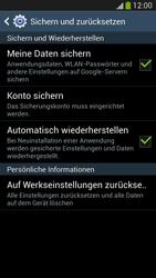 Samsung Galaxy S 4 LTE - Gerät - Zurücksetzen auf die Werkseinstellungen - Schritt 6