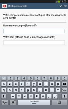 Samsung Galaxy Tab 3 8 4G - E-mails - Ajouter ou modifier un compte e-mail - Étape 18