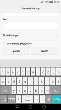 Huawei P9 Plus - E-Mail - Konto einrichten - Schritt 17