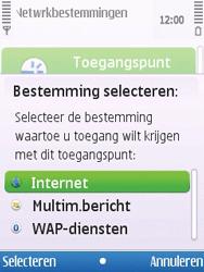 Nokia 6700 slide - internet - handmatig instellen - stap 11
