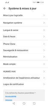 Huawei P Smart 2021 - Aller plus loin - Mettre à jour le logiciel interne de votre mobile - Étape 5