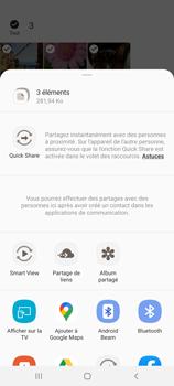 Samsung Galaxy A31 - Photos, vidéos, musique - Envoyer une photo via Bluetooth - Étape 11