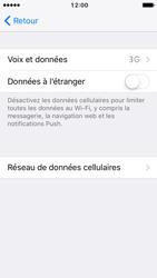 Apple iPhone SE - iOS 10 - Réseau - Changer mode réseau - Étape 5