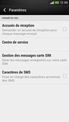 HTC Desire 601 - SMS - configuration manuelle - Étape 8