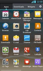 LG P700 Optimus L7 - E-mail - Sending emails - Step 3