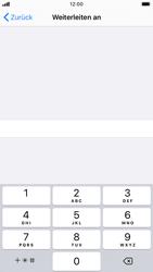 Apple iPhone 8 - iOS 13 - Anrufe - Rufumleitungen setzen und löschen - Schritt 7