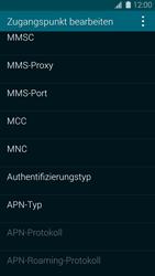Samsung Galaxy S5 - MMS - Manuelle Konfiguration - 14 / 19