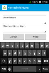 Alcatel OT-4009D Pixi 3 (3.5) - E-Mail - Konto einrichten - Schritt 15