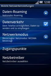 Sony Ericsson Xperia X8 - Ausland - Im Ausland surfen – Datenroaming - Schritt 8