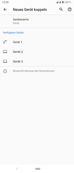 Sony Xperia 5 - Bluetooth - Verbinden von Geräten - Schritt 6