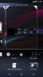 Sony Xperia Z1 Compact - Operazioni iniziali - Installazione di widget e applicazioni nella schermata iniziale - Fase 7