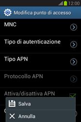 Samsung Galaxy Fame Lite - MMS - Configurazione manuale - Fase 16