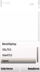 Nokia 5230 - e-mail - handmatig instellen - stap 15