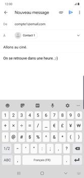 Samsung Galaxy Note10 Plus - E-mail - envoyer un e-mail - Étape 9