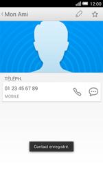 Alcatel OT-5050X Pop S3 - Contact, Appels, SMS/MMS - Ajouter un contact - Étape 9