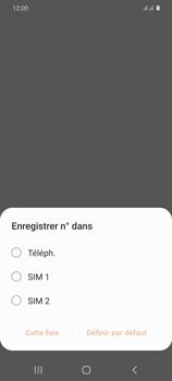 Samsung Galaxy S20 - Contact, Appels, SMS/MMS - Ajouter un contact - Étape 5