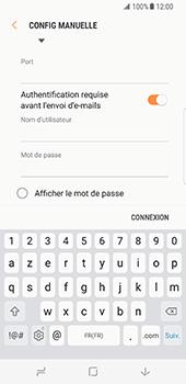 Samsung Galaxy S8 - E-mail - configuration manuelle - Étape 14