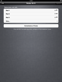 Apple iPad 2 - Primeros pasos - Activar el equipo - Paso 6