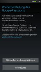 HTC One Max - Apps - Konto anlegen und einrichten - 12 / 22