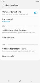 Samsung Galaxy J4 Plus - SMS - handmatig instellen - Stap 8