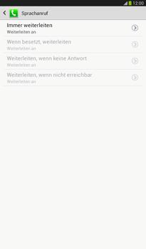 Samsung T211 Galaxy Tab 3 7-0 - Anrufe - Rufumleitungen setzen und löschen - Schritt 11