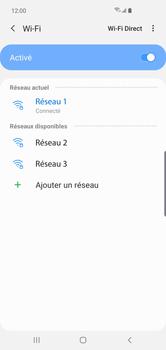 Samsung Galaxy S10 Plus - Internet et connexion - Accéder au réseau Wi-Fi - Étape 9
