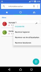 Sony Xperia XA1 - Anrufe - Anrufe blockieren - Schritt 5