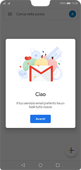 Huawei P20 - Android Pie - E-mail - 032a. Email wizard - Gmail - Fase 13