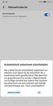 Huawei Mate 10 Pro Dual-SIM (Model BLA-L29) - Android Pie - Netwerk selecteren - Handmatig een netwerk selecteren - Stap 8