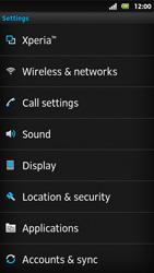 Sony MT27i Xperia Sola - MMS - Manual configuration - Step 4