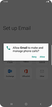 Samsung Galaxy S9 Plus - Android Pie - E-mail - 032c. Email wizard - Outlook - Step 11