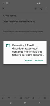 Samsung Galaxy S10 Plus - E-mails - Envoyer un e-mail - Étape 14