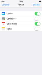Apple iPhone 6s iOS 10 - E-mail - Configurar Gmail - Paso 8