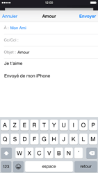 Apple iPhone 6 iOS 8 - E-mails - Envoyer un e-mail - Étape 8