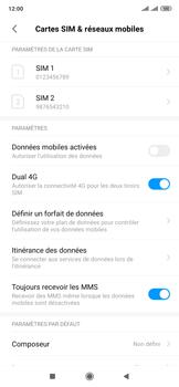 Xiaomi Mi Mix 3 5G - Internet et roaming de données - Comment vérifier que la connexion des données est activée - Étape 4