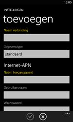 Nokia Lumia 820 LTE - Internet - handmatig instellen - Stap 13
