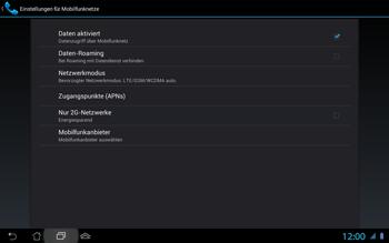 Asus Padfone 2 - Ausland - Im Ausland surfen – Datenroaming - Schritt 8