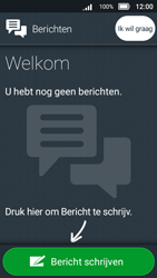 Doro 8031 - SMS - SMS-centrale instellen - Stap 5