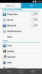 Huawei Ascend P6 - Internet und Datenroaming - Deaktivieren von Datenroaming - Schritt 4